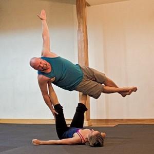 Acro yoga couples